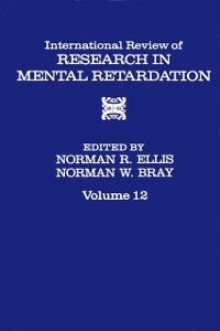 Ebook in inglese INT'L REV OF RESRC IN MENTL RETARDTN V12 -, -