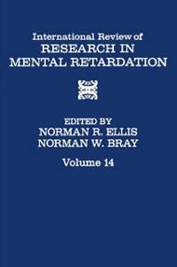Ebook in inglese INT'L REV OF RESRC IN MENTL RETARDTN V14 -, -
