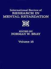INT'L REV OF RESRC IN MENTL RETARDTN V15