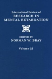 Ebook in inglese International Review of Research in Mental Retardation -, -