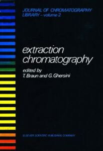 Ebook in inglese EXTRACTION CHROMATOGRAPHY -, -