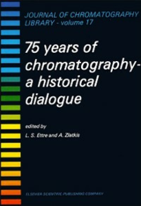 Ebook in inglese 75 YEARS OF CHROMATOGRAPHY -, -