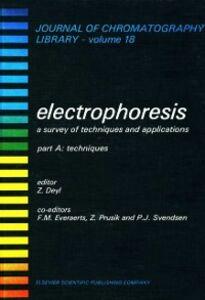 Foto Cover di Techniques, Ebook inglese di Z. Deyl, edito da Elsevier Science