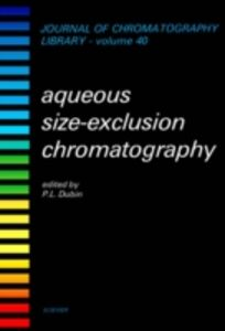 Ebook in inglese Aqueous Size-Exclusion Chromatography -, -