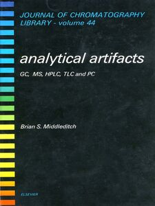 Ebook in inglese Analytical Artifacts Middleditch, B.S.