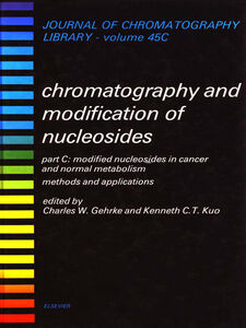 Ebook in inglese Modified Nucleosides in Cancer and Normal Metabolism--Methods and Applications -, -