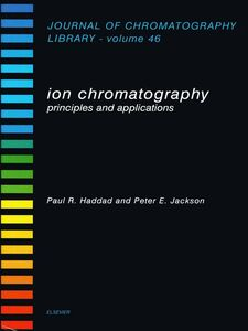 Ebook in inglese Ion Chromatography -, -