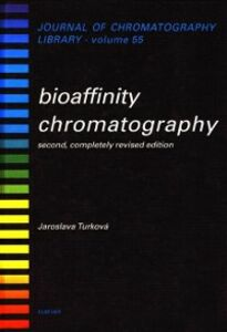 Foto Cover di Bioaffinity Chromatography, Ebook inglese di J. Turkova, edito da Elsevier Science