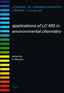 Ebook in inglese Applications of LC-MS in Environmental Chemistry -, -