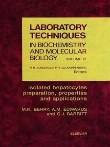 Ebook in inglese Isolated Hepatocytes Barritt, G.J. , Berry, M.N. , Edwards, A.M.