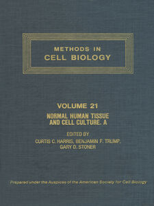 Ebook in inglese METHODS IN CELL BIOLOGY,VOLUME 21A