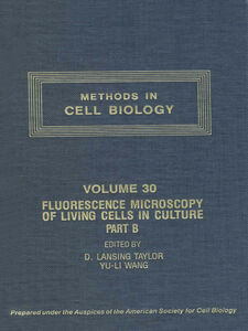 Foto Cover di METHODS IN CELL BIOLOGY,VOL 30 CTH, Ebook inglese di  edito da Elsevier Science
