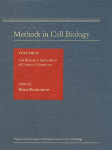 Ebook in inglese Cell Biological Applications of Confocal Microscopy -, -