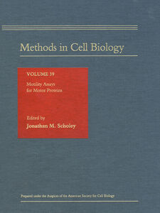 Foto Cover di MOTILITY ASSAYS FOR MOTOR PROTEINS, Ebook inglese di  edito da Elsevier Science