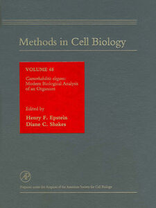 Foto Cover di Caenorhabditis elegans, Ebook inglese di Author Unknown, edito da Elsevier Science
