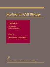 Methods in Avian Embryology