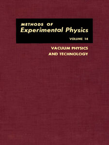 Foto Cover di Vacuum Physics and Technology, Ebook inglese di  edito da Elsevier Science