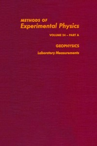 Ebook in inglese Geophysics Laboratory Measurements -, -