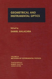 Ebook in inglese Geometrical and Instrumental Optics -, -