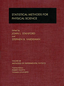 Ebook in inglese Statistical Methods for Physical Science -, -