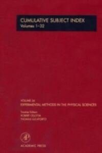 Foto Cover di Cumulative Subject Index Volumes 1-32, Ebook inglese di  edito da Elsevier Science