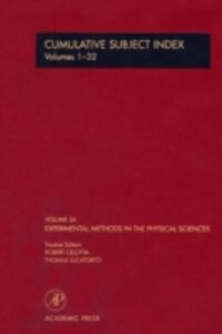 Ebook in inglese Cumulative Subject Index Volumes 1-32