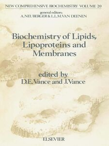 Foto Cover di Biochemistry of Lipids, Lipoproteins and Membranes, Ebook inglese di Dennis E. Vance,J.E. Vance, edito da Elsevier Science