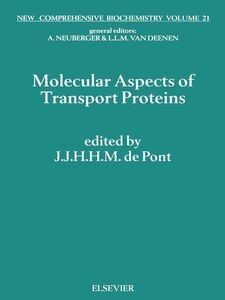 Ebook in inglese Molecular Aspects of Transport Proteins