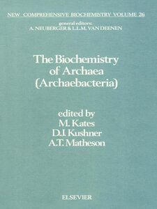 Ebook in inglese The Biochemistry of Archaea (Archaebacteria)