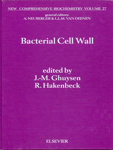 Ebook in inglese Bacterial Cell Wall -, -