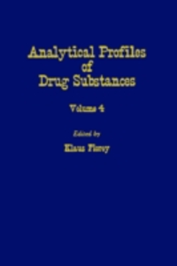 Ebook in inglese Profiles of Drug Substances, Excipients and Related Methodology vol 4 -, -
