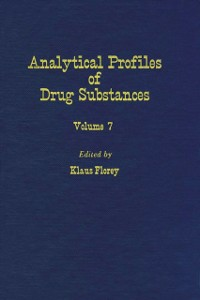 Ebook in inglese Profiles of Drug Substances, Excipients and Related Methodology vol 7 -, -