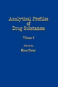 Ebook in inglese Profiles of Drug Substances, Excipients and Related Methodology vol 8 -, -