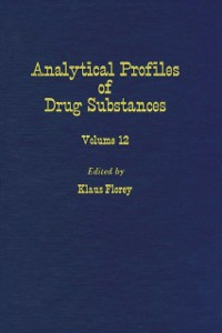 Ebook in inglese Profiles of Drug Substances, Excipients and Related Methodology vol 12 -, -