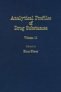 Ebook in inglese Profiles of Drug Substances, Excipients and Related Methodology vol 13 -, -