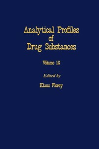 Ebook in inglese Profiles of Drug Substances, Excipients and Related Methodology vol 16 -, -