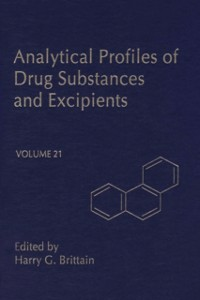 Ebook in inglese Profiles of Drug Substances, Excipients and Related Methodology vol 21 -, -