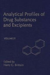 Profiles of Drug Substances, Excipients and Related Methodology vol 21