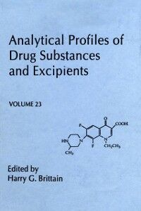 Ebook in inglese Analytical Profiles of Drug Substances and Excipients