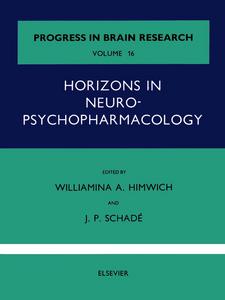 Ebook in inglese Horizons in Neuropsychopharmacology -, -