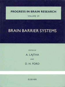 Ebook in inglese Brain Barrier Systems -, -