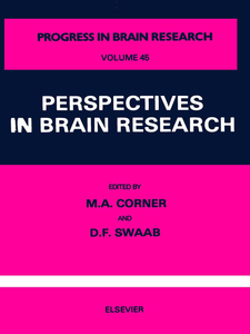 Ebook in inglese Perspectives in Brain Research -, -