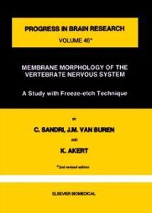 Foto Cover di Membrane Morphology of the Vertebrate Nervous System, Ebook inglese di  edito da Elsevier Science