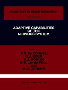 Foto Cover di Adaptive Capabilities of the Nervous System, Ebook inglese di  edito da Elsevier Science