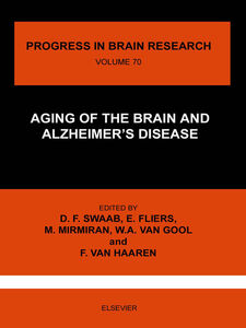 Ebook in inglese AGING OF THE BRAIN AND ALZHEIMER'S DISEASE -, -