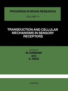 Ebook in inglese TRANSDUCTION AND CELLULAR MECHANISM IN SENSORY RECEPTORS