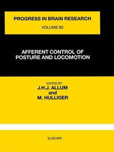 Foto Cover di AFFERENT CONTROL OF POSTURE AND LOCOMOTION, Ebook inglese di  edito da Elsevier Science