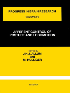 Ebook in inglese AFFERENT CONTROL OF POSTURE AND LOCOMOTION -, -