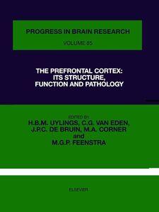 Ebook in inglese The Prefrontal Cortex