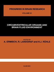 Ebook in inglese CIRCUMVENTRICULAR ORGANS AND BRAIN FLUID ENVIRONMENT